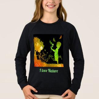I love Nature Sweatshirt