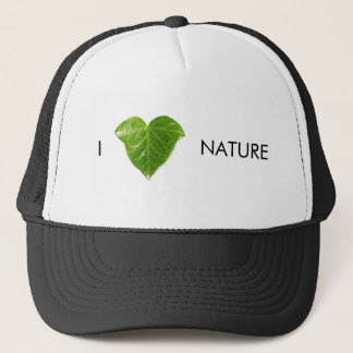 I love nature trucker hat