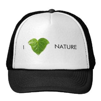 I love nature trucker hat