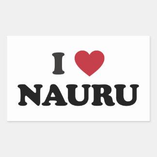 I Love Nauru Sticker