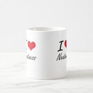 I Love Neatness Basic White Mug