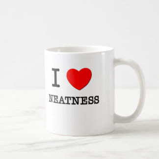 I Love Neatness Mugs
