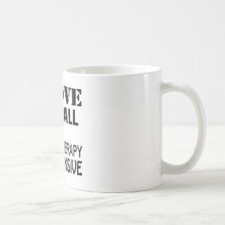 I Love Netball Because Therapy Is Expensive Coffee Mug
