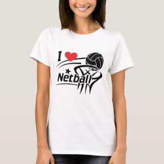 I Love Netball T-Shirt