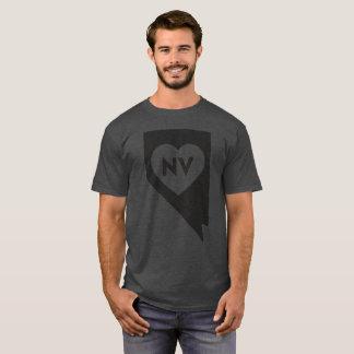 I Love Nevada State Men's Basic Dark T-Shirt
