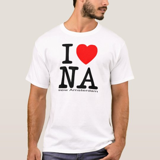 I Love New Amsterdam T-Shirt