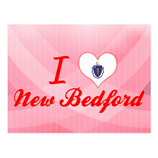 I Love New Bedford, Massachusetts Postcard