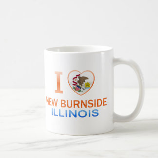 I Love New Burnside, IL Coffee Mug