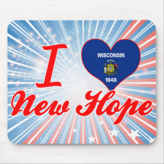 I Love New Hope, Wisconsin Mouse Pads