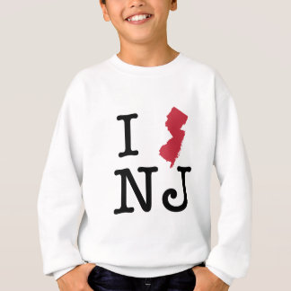 I Love New Jersey Sweatshirt
