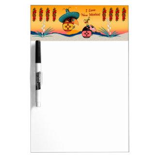 I Love New Mexico Dry Erase Board