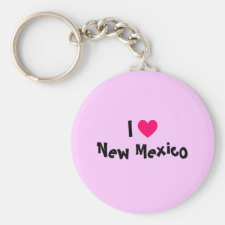I Love New Mexico Keychain
