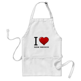 I LOVE NEW MEXICO STANDARD APRON