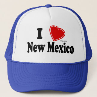 I Love New Mexico Trucker Hat