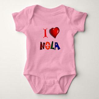 I LOVE NEW ORLEANS LOUISIANA BABY BODYSUIT