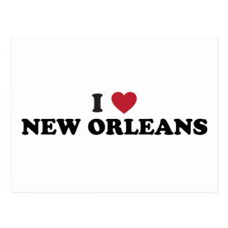 I Love New Orleans Louisiana Postcard