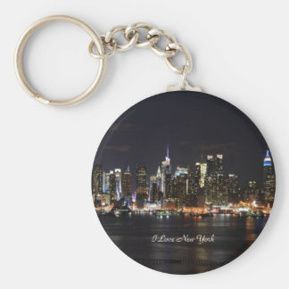 I Love New York, Bright Lights, City Lights Keychain