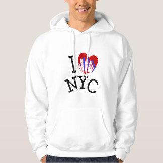 I Love New York City Hoodie