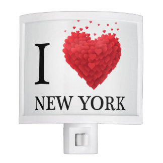 I Love New York Hearts Nite Lights