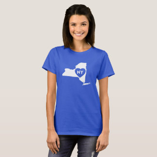 I Love New York State Women's Basic T-Shirt