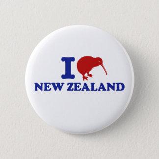 I Love New Zealand 2 Inch Round Button