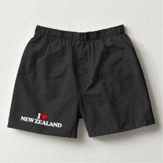 I LOVE NEW ZEALAND BOXERS