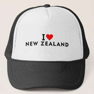 I love New Zealand country like heart travel touri Trucker Hat