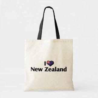 I Love New Zealand Flag