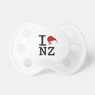 I Love New Zealand Kiwi Pacifier