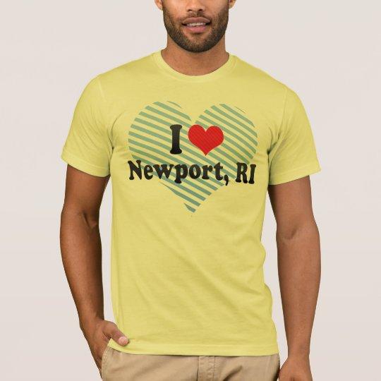 I Love Newport, RI T-Shirt
