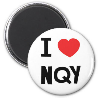 I love Newquay 2 Inch Round Magnet