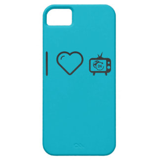 I Love News Channels iPhone 5 Case