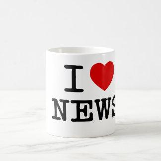 I Love News mug