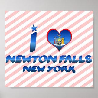 I love Newton Falls, New York Posters