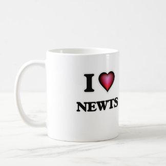 I Love Newts Coffee Mug