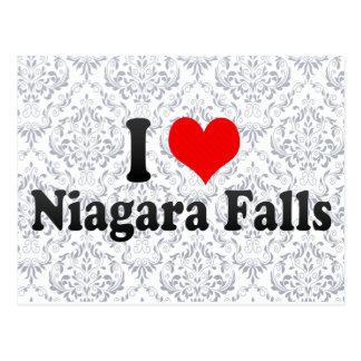 I Love Niagara Falls, Canada Postcard