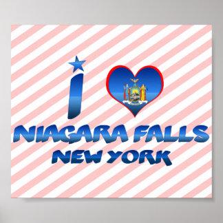 I love Niagara Falls, New York Print