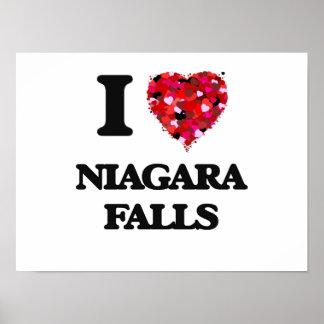 I love Niagara Falls Poster