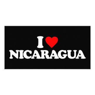 I LOVE NICARAGUA PHOTO CARDS