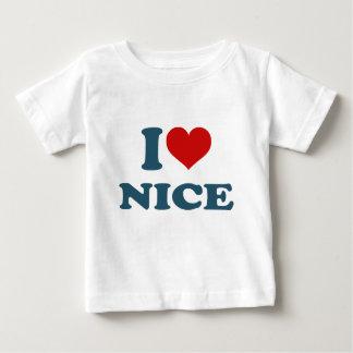 I Love Nice Baby T-Shirt