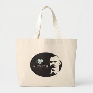 I Love Nietzsche Tote Bag
