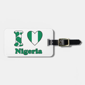 I love Nigeria Luggage Tag