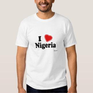 I Love Nigeria T Shirts