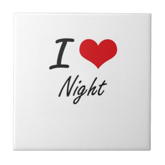 I Love Night Tiles