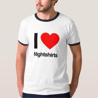 i love nightshirts tee shirt