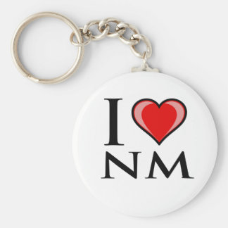 I Love NM - New Mexico Keychain