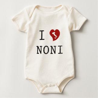 I Love Noni Baby Bodysuit