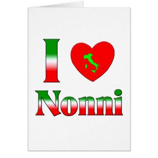 I  Love Nonni Card