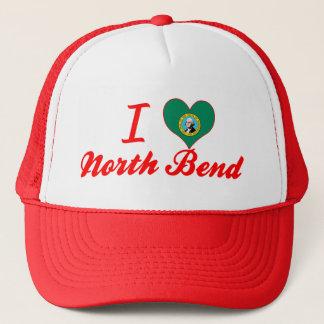 I Love North Bend, Washington Trucker Hat
