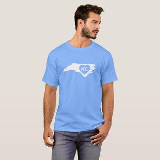 I Love North Carolina State Men's Dark T-Shirt